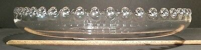 """Candlewick Round Float Bowl Imperial Glass 11"""""""