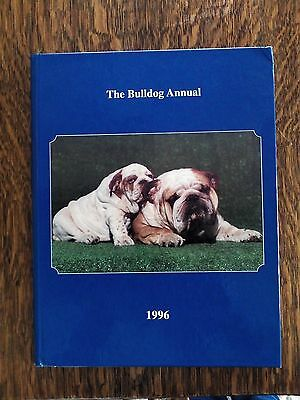 The Bulldog Annual 1996 Hardcover Book