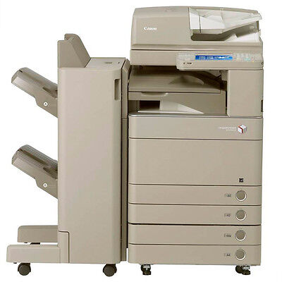 Canon IRA C5035 Color Copier Print Scan Finisher Punching Stapler advance C5035