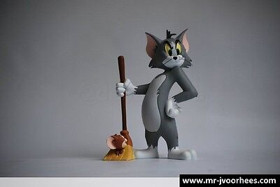 Extremely Rare! Tom & Jerry Mopping the Floor Demons & Merveilles Figur Statue