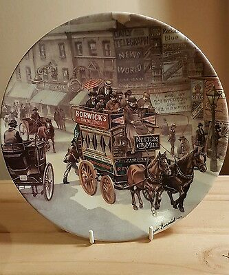 Royal Worcester - The good old days plate collection - The omnibus