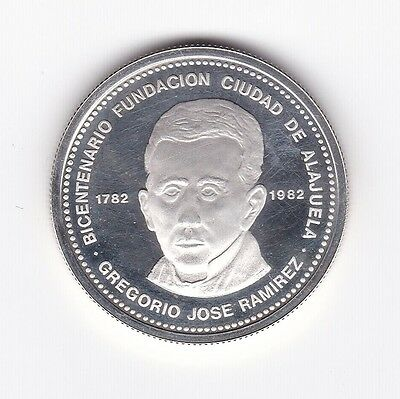 Costa Rica: Silver Coin - 300 Colones 1981 - Proof