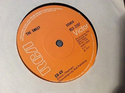 "The Sweet - Co-Co Vinyl 7"" Single"