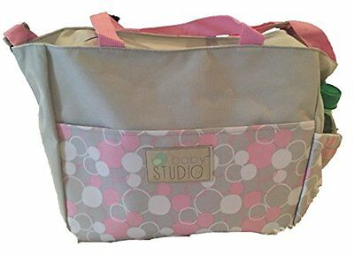 In-Obeytions Baby Diaper Bag-Weekender Tote-Stylish Design with Adjustable