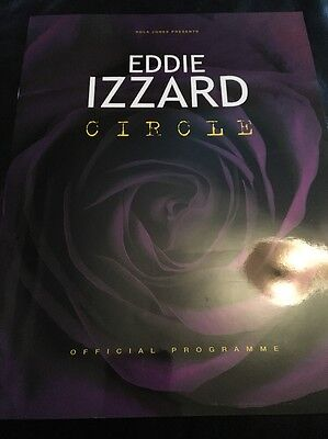 Eddie Izzard Circle  Tour Programme