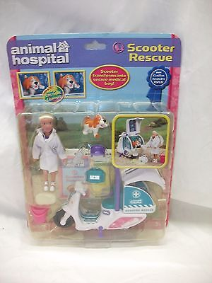 Rare Vintage Animal Hospital  RSPCA BBC ~ Scooter Rescue Set Brand New On Card