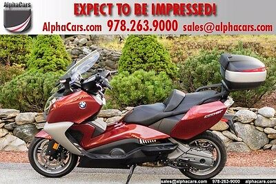 2013 BMW C 650 GT Maxi-Scooter  Loaded Scooter Low Mileage Heated Grips Heated Seat Financing & Trades