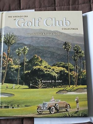 Vintage Era of Golf Club Collectibles identification and value guide, signed