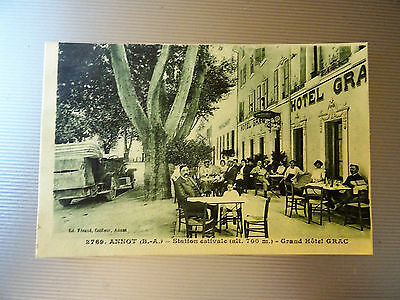 Cpa Annot---Station Estivale --Grand Hotel Grac  Belle Animation