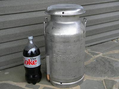 Fairmont Foods Fairmont Minnesota~Stainless Container~Milk Can~Animal Food
