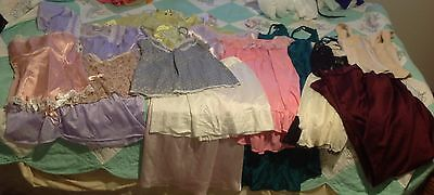 Lingerie Lot Of 12 Nightgowns Slip Camisoles Corset Shaper Size Small