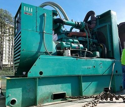 USED Onan 60 KW Diesel Generator 1 or 3 Phase Allis Chalmers Model 2900 MKI
