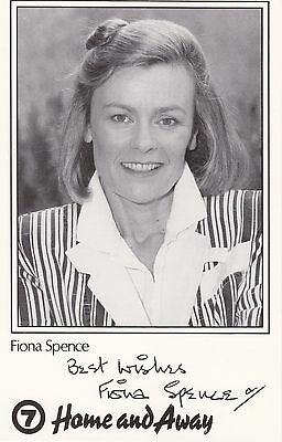 Home And Away Prisoner Cell Block H Fiona Spence As Celia Signed Fan Card