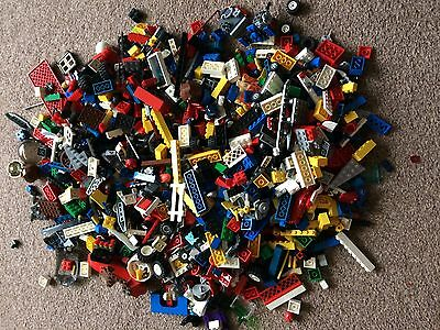 Approx 2.3kgs Of Mixed lego Bundle - Bricks, Pieces, Parts and Figures