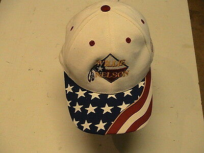 Willie Nelson Authentic July 4Th, 2003, Baseball Cap, 30Th Annual