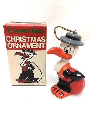 Vintage 1978 Looney Tunes Beaky Buzzard Christmas Ornament Mint In The Box
