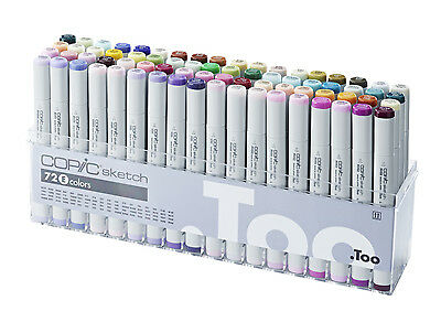 Copic Sketch Marker - 72E Manga Marker St - Refillable With Copic Various Inks
