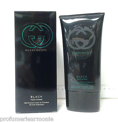 GUCCI GUILTY BLACK FOR HIM SHOWER GEL BAGNO DOCCIA 200 ml OFFERTA SPECIALE LIMIT