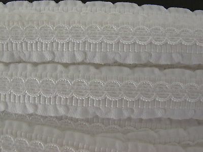 White 13mm fancy strapping 5.5 mtrs