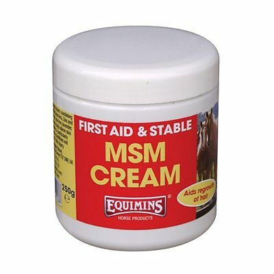 * Equimins MSM Cream for Horses First Aid Cream - 250g *