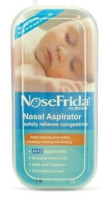Nosefrida Nasal Aspirator - Made in Sweden - Shipped from UK
