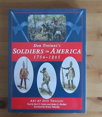 book REVOLUTIONARY CIVIL WAR uniform military art troiani
