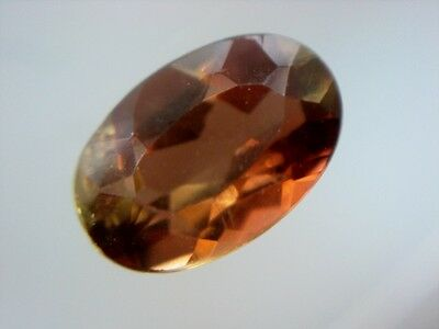 ANDALUSIT  -  OVAL FACET  -  6x4 mm  -  0,48 ct.