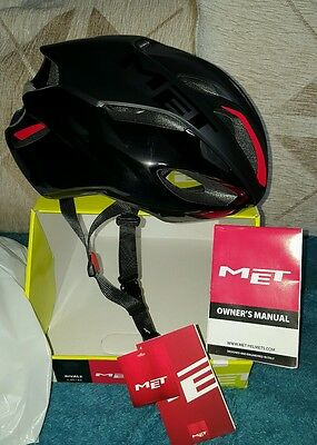 Cycling helmet Met rivale road pro large size 59/62 cm new