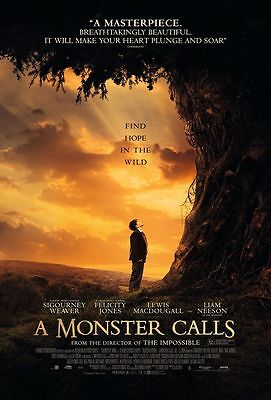 A Monster Calls Movie Poster 18'' X 28''