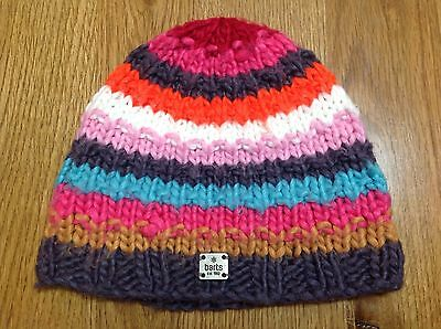 Kids Multicoloured Wooly Hat/beanie Barts