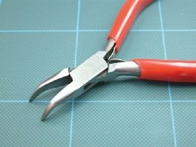 75565 TP Modelling Tools & Accessories Curved Nose Pliers with Plain Jaws - New