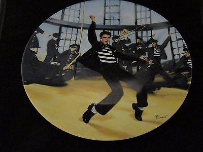 1989 Limited Edition #4161D Elvis Presley: Looking At A Legend Plate #2