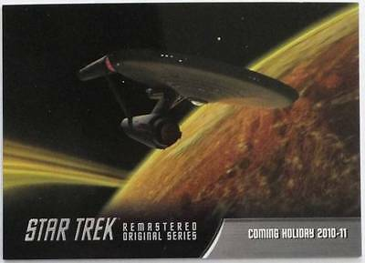 Star Trek TOS ORIGINAL SERIES Remastered - P1 Promo Card