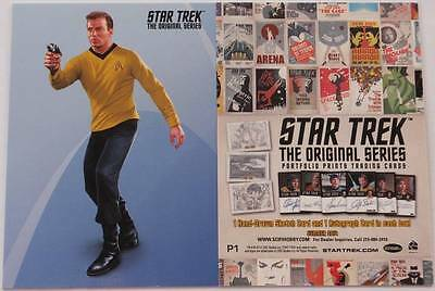 Star Trek TOS PORTFOLIO PRINTS - P1 Promo Card
