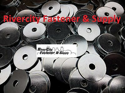 """(20) Extra thick Heavy Duty Fender Washers 3/8"""" x 2 """" Large OD 3/8x2"""
