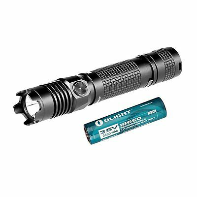 Olight M1X Striker Lampe Torche LED Cree XM-L2 1000 Lumens Tactique + 2 18650