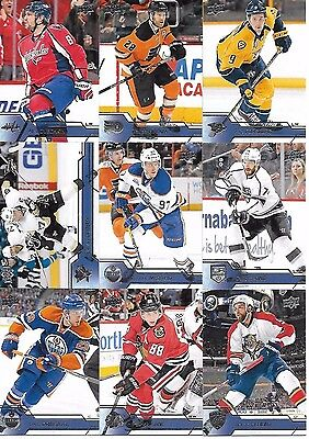 2016-17 Upper Deck Series One - Complete Set #1-200 Crosby McDavid Ovechkin
