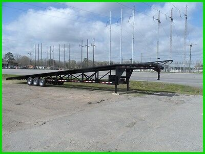 2016 Down to Earth 102 x 50 Wedge 3 4 car hauler cargo boat enclosed trailer New