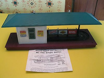 LIONEL ,Freight Station ,356 , W  Instructions