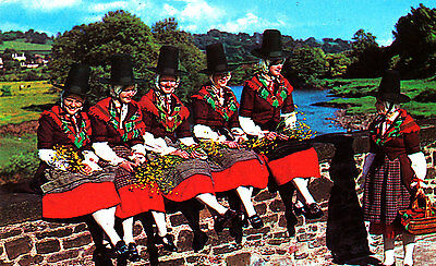WALES - Three RP Postcards of Welsh Costume
