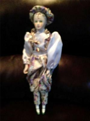 Porcelain Mime Doll Pre-Owned
