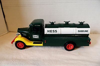 1985 FIRST HESS TOY TRUCK BANK - EXCELLENT in BOX with INSERTS
