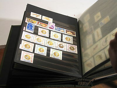 timbres Roumanie ROMANIA STAMP USED album 1950 to 1982 motre than 1000