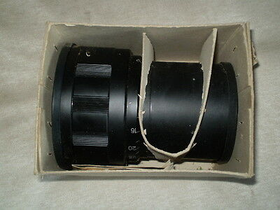 35-NAP2-3M 80-140mm ANAMORPHIC lens 35mm MOVIE PROJECTOR USSR NEW!