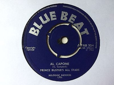 "PRINCE BUSTER'S ALL STARS: ""AL CAPONE"" on UK BLUE BEAT"