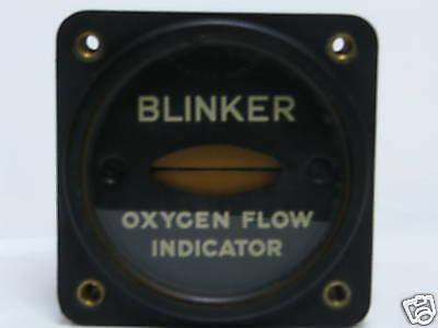 Aircraft Oxygen Flow Indicator Type A-3 Gauge Gages Gage