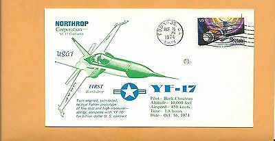 Yf-17 Supersonic First Bomb-Drop Northrop Oct 16,1974 Eafb Space Voyage