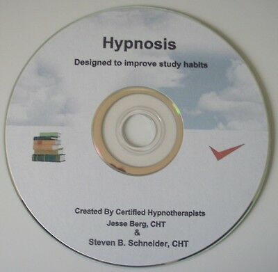 PROFESSIONAL HYPNOSIS CD - Improved Study Habits