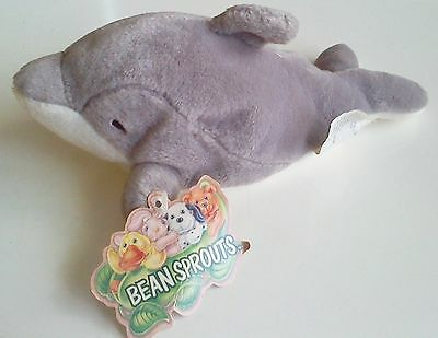 Bean Sprouts Stuffed Toy: Dash the Dolphin