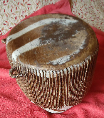Large Goat Skin Drum from Africa